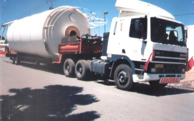 Transport of Cement Silo